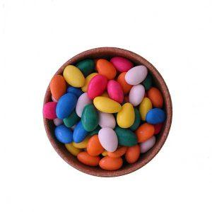 Imagem ilustrativa do produto amêndoa confeitada colorida