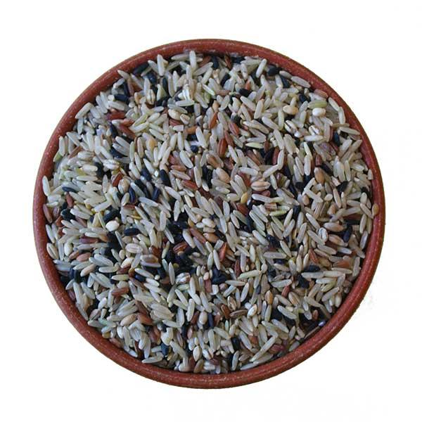 Imagem ilustrativa do produto arroz integral 7 grãos