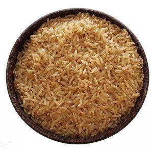 Imagem ilustrativa do produto arroz integral agulha branco