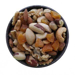 Imagem ilustrativa do produto mix de castanhas com damasco