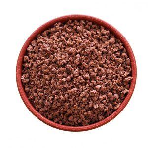 Imagem ilustrativa do produto proteína texturizada de soja miuda PTS escura