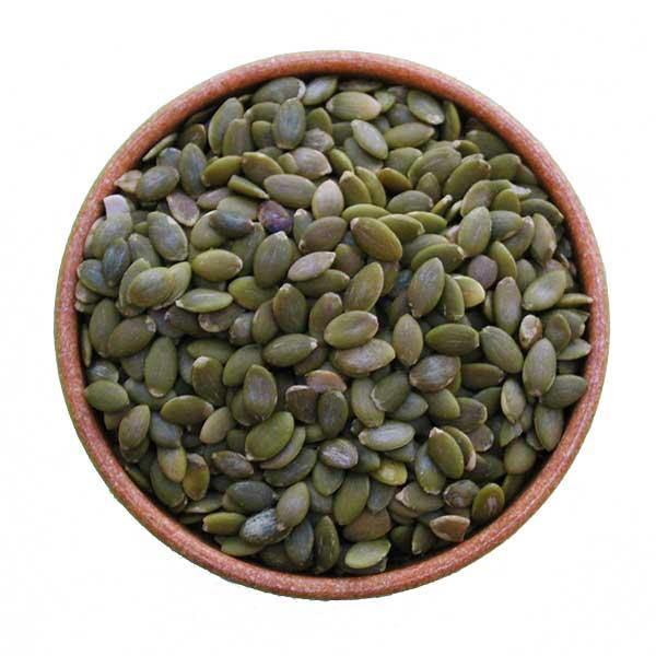 Imagem ilustrativa do produto semente de abóbora crua e sem casca
