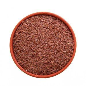 Imagem ilustrativa do produto semente de linhaça escura