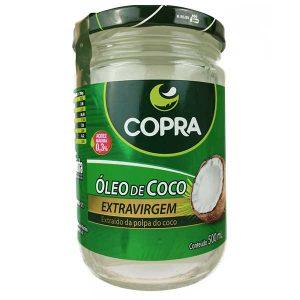 óleo de coco extravirgem 500ml da marca copra