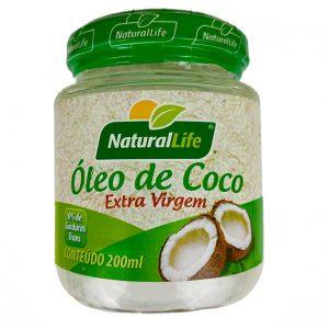 óleo de coco extravirgem 200ml da marca NaturalLife