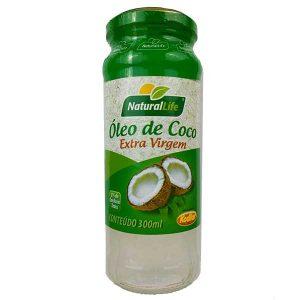 óleo de coco extravirgem 300ml da marca NaturalLife