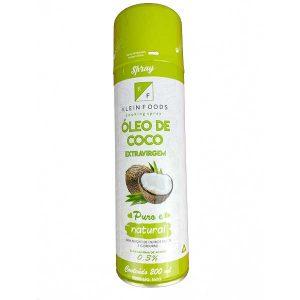 óleo de coco extravirgem spray 200ml da marca Klein Foods