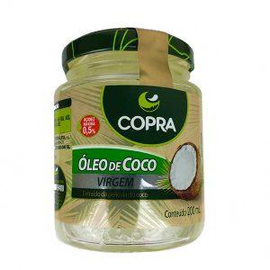 óleo de coco virgem 200ml da marca copra