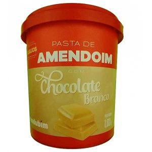 pasta de amendoim com Chocolate Branco 1,020kg da marca Mandubim