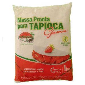 massa pronta para tapioca 1kg da marca pantanal